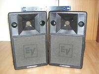 EV Pa Speakers Stage 200s.