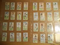 GLAMORGAN CRICKETERS - COMPLETE SET OF COLLECTOR CARDS issued 1984 MINT CONDITION