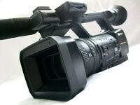 SONY HXR-NX5E NXCAM SOLID STATE CAMCORDER OUTFIT - ZERO HOURS (PAL)