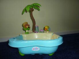 ZAPF CREATION Baby Born Bubbling Fun Bath Set