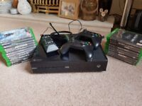 Xbox One Bundle (including games and accessories)