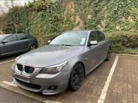 Gun Metal Grey BMW, 5 SERIES, M Sport, 2007, Automatic, 520d, e60, LCI edition, NEW ENGINE REBUILD,