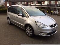 FORD GALAXY 2007 DIESEL SIVER COLOUR 7 SEATER 10 MONTH MOT LEATHER SEATS SAT NAV