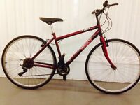 Trax 18 speed Hybrid bike Serviced Ideal for Commuting