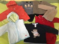 bundle of baby boy clothes (4-8months)