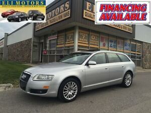 2007 Audi A6 AVANT QUATTRO LEATHER SUNROOF ALLOYS.
