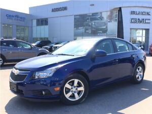 2013 Chevrolet Cruze LT Turbo Leather interior