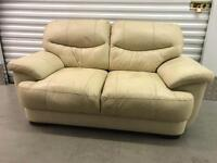 Leather sofa With FREE DELIVERY