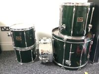 Old Pearl Export Drum Kit