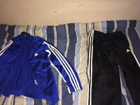Adidas outdoor track suit