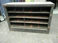 Garage metal shelves