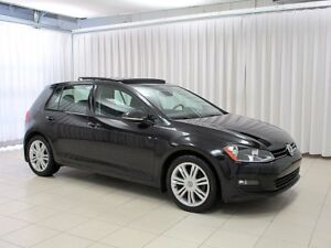 2015 Volkswagen Golf TDI Diesel! VW CERTIFIED! Highline! Auto! S