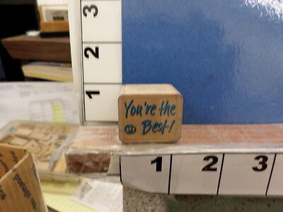 saying youre the best smile face teach rubber stamp (Your The Best Sayings)