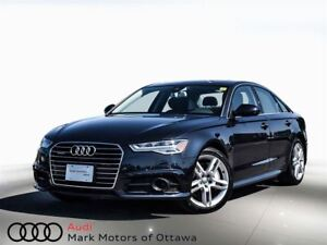 2017 Audi A6 3.0T Technik *Certified*