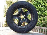 Pirelli Sottozero Winter 210 Serie II winter / snow tyres (two) on black steel rims