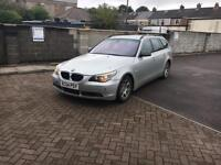 BMW 5 Series 525Diesel Se Touring Auto Lovley Estate Family Car On A Lovely Silver