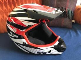 Kids No Fear crash helmet