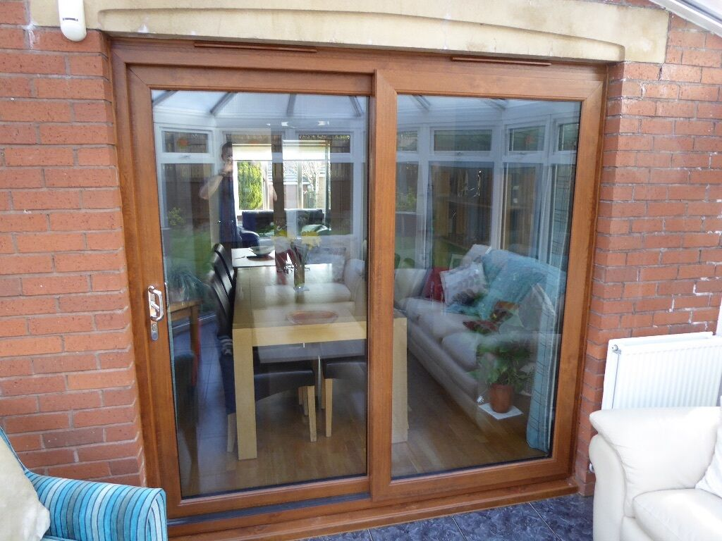 Upvc sliding patio doors in newton mearns glasgow gumtree for Double glazed patio doors sale