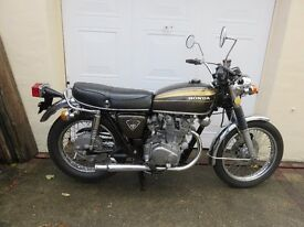 1972 HONDA CB450 MOTORCYCLE FOR SALE