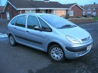 52 Reg, Citroen Picasso Sx 2.0 HDi DIESEL, 83k miles, Mot Aug 17. £575.ono. (P/X Welcome)