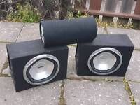 2x subs + subwoofer