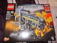 LEGO TECHNIC BUCKET WHEEL EXCAVATOR 42055 NEW SEALED