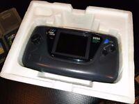 Sega Game Gear Console + 4 games.