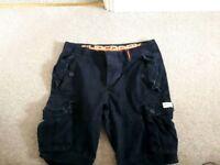 Superdry mens cargo shorts