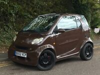 2002 MCC SMART CAR PASSION WITH BRABUS BODY KIT, AUTOMATIC, 0.6 ENGINE.