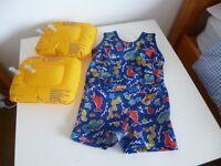 Floaties child's swimming costume