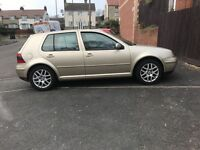 Amazing mk4 golf v5 fsh full leather very rare may swap