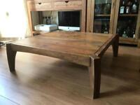 Solid rose wood coffee table