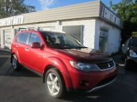 2008 Mitsubishi Outlander XLScuir toit 7passa dvd4x4 nav finance