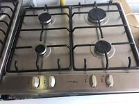 Stainless steel Built in Gas Hob Fully Working Order Just £20 Sittingbourne