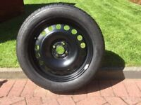 Brand new wheel & tyre for Corsa 2007 onwards never been used