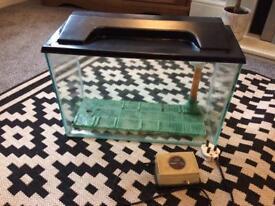 Fish Tank, Pump & Under Gravel Filter