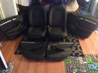 Will sell individual £150 Audi A3 full set of seats and interior.