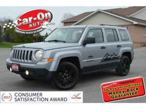 2015 Jeep Patriot Altitude 4X4 AUTO A/C ONLY 44,000 KM