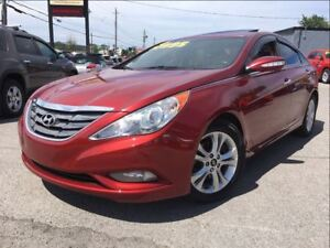 2011 Hyundai Sonata Limited | Htd Leather | Sunroof | Alloys |