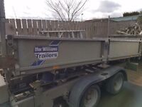 Ifor williams Tipper trailer