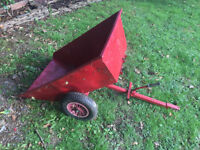 Saxon Garden tipping trailer for sale