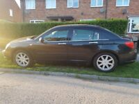 Chrysler Sebring Crd Limited With Leather Sat Nav Alloys Cruise control Same As Vw Audi Skoda Seat