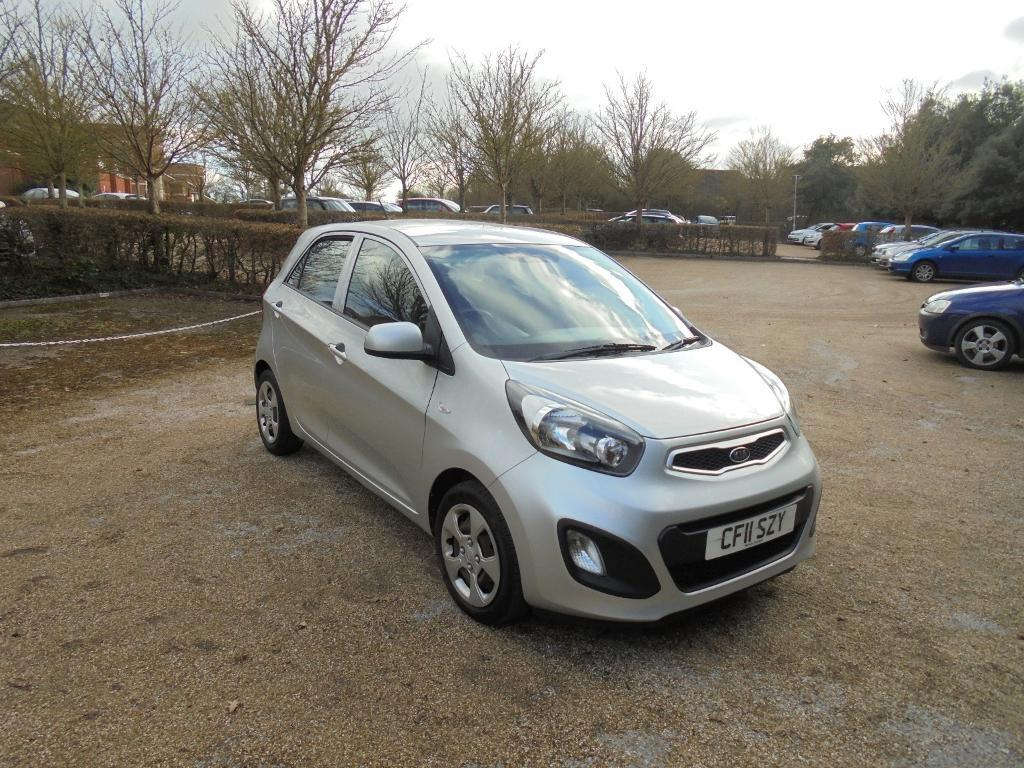 kia picanto 1 5dr silver 2011 in fareham hampshire gumtree. Black Bedroom Furniture Sets. Home Design Ideas