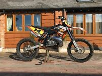 KTM SX 250 Motocross Bike
