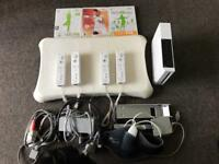 Wii fit with controls board and games all complete with all accessories