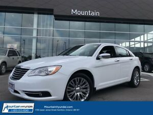 2014 Chrysler 200 Limited | LEATHER | SUNROOF | BLUETOOTH