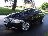 2010 JAGUAR XF PREMIUM LUXURY 3.0TDV6 AUTO BLACK 104300 MILES