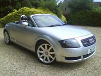@@STUNNING AUDI TT(225) CONVERTIBLE PRIVATE (TT) PLATE,F.S.H,LADY OWNED MY SISTER,FULLY LOADED,WOW@@