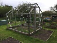 6' x 8' greenhouse