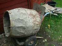 Belle cement mixer concrete mixer